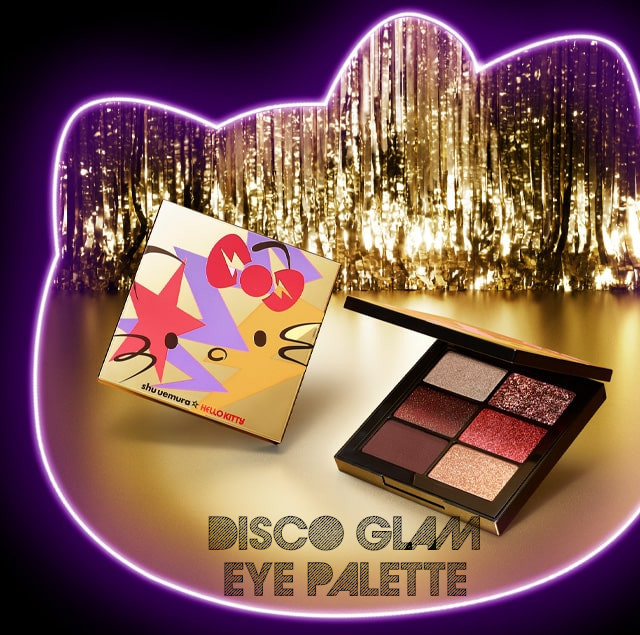 Shu Uemura Hello Kitty Rock the Party Collection Disco Glam Eye Palette
