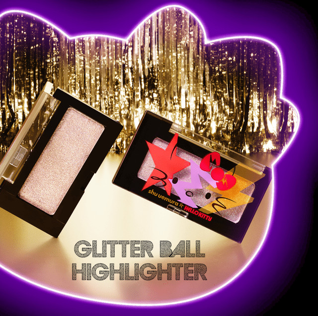 Shu Uemura Hello Kitty Rock the Party Collection Glitter Ball Highlighter