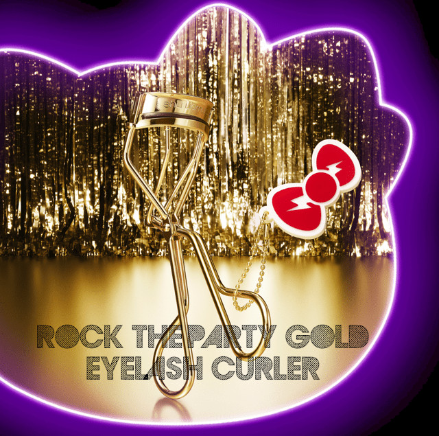 Shu Uemura Hello Kitty Rock the Party Collection Rock the Party Gold Eyelash Curler