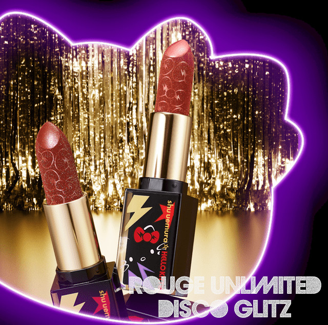 Shu Uemura Hello Kitty Rock the Party Collection Rouge Unlimited Disco Glitz