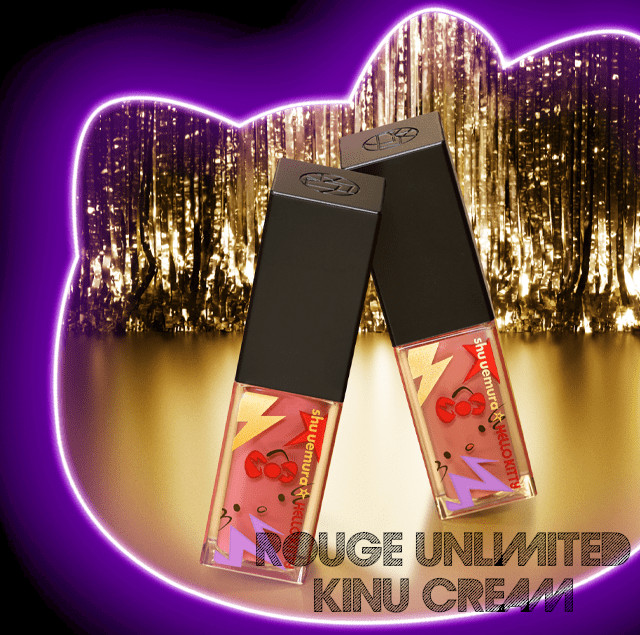 Shu Uemura Hello Kitty Rock the Party Collection Rouge Unlimited Kinu Cream