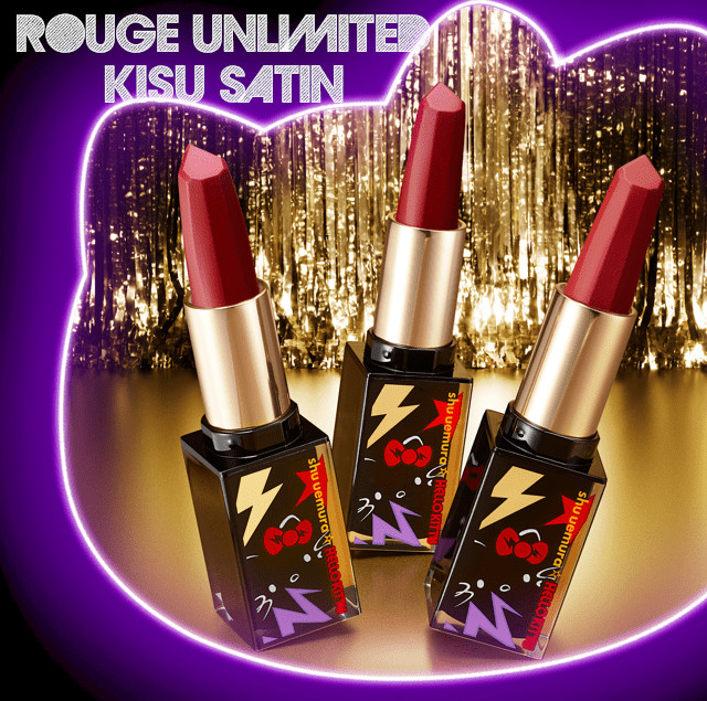 Shu Uemura Hello Kitty Rock the Party Collection Rouge Unlimited Kisu Satin