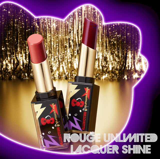 Shu Uemura Hello Kitty Rock the Party Collection Rouge Unlimited Lacquer Shine